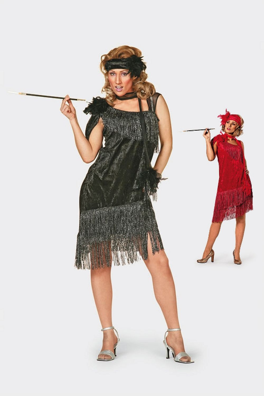 20er 30er Jahre Charleston Kostüm Dammen Kleid Flapper Vintage Mode ...