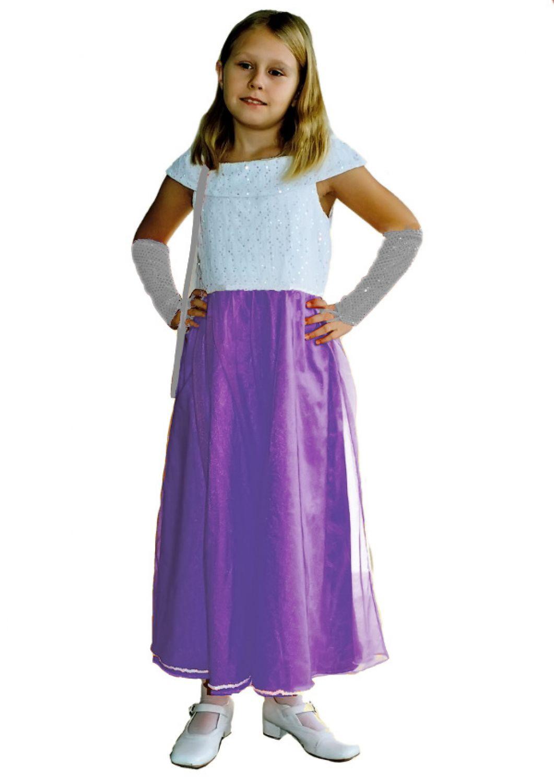 Prinzessin kleid madchen lila