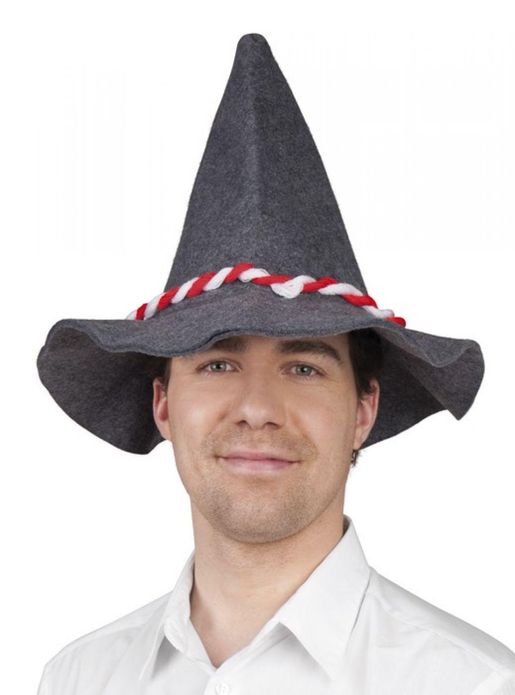 Pailletten Mütze silber mit Antennensternen lustiger Karneval /& Faschings Hut