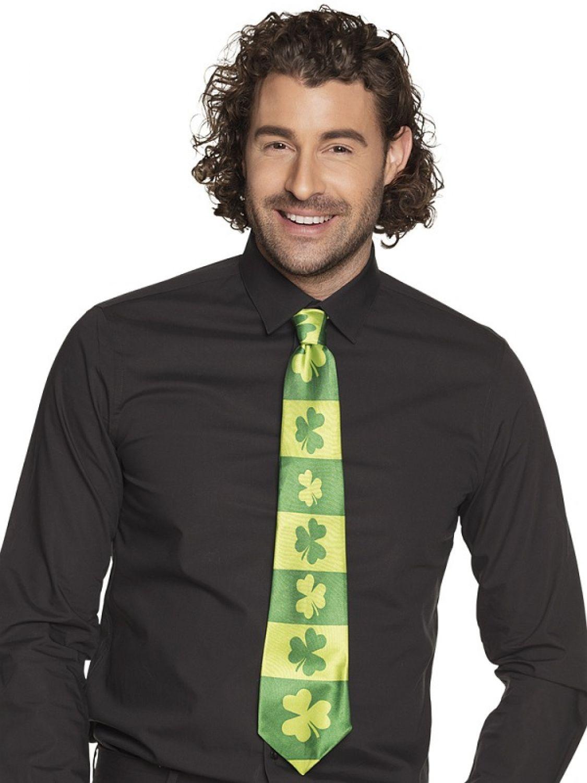 St. Patricks Day Kostüm Zubehör Shamrock Krawatte Kleeblatt Party ...