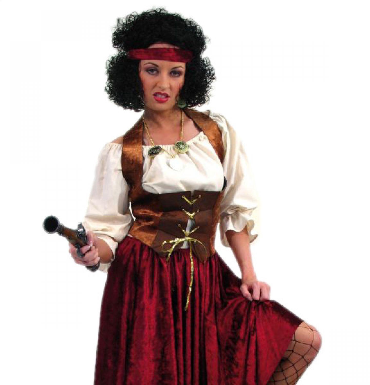 Details Zu Piratinen Oberteil Mieder Piraten Verkleidung Für Frauen Karneval Outfit