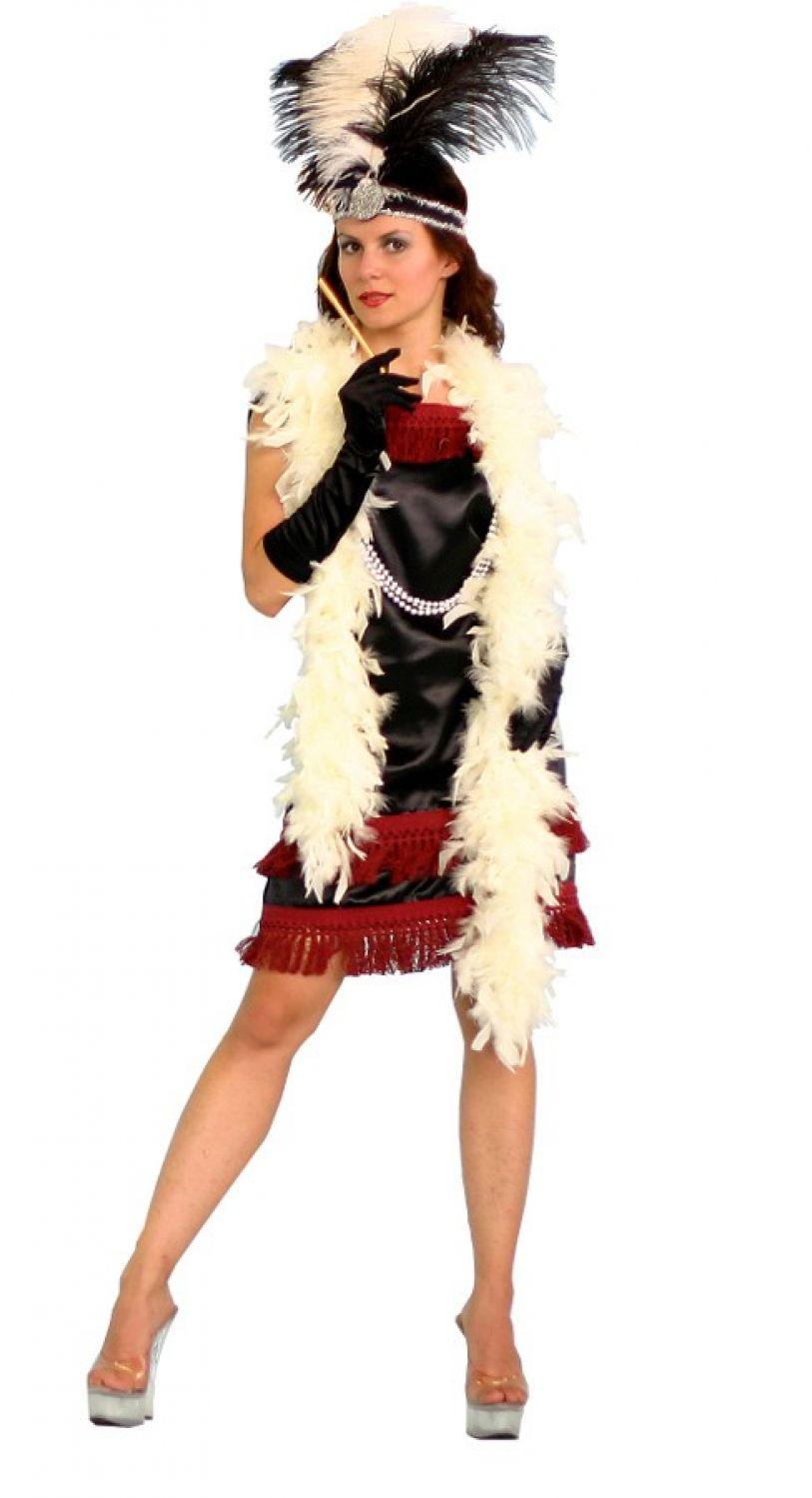 Charleston Kleid 20er 30er Jahre Damen Kostüm Fasching Karneval ...