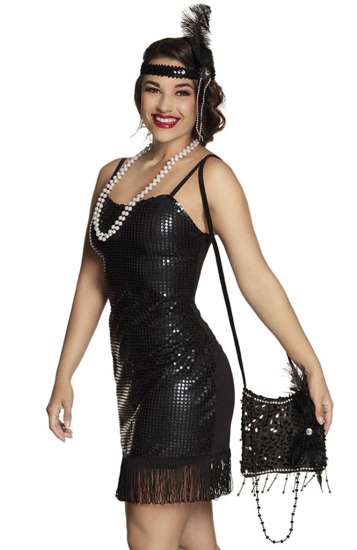 20er 30er Jahre Charleston Flapper Handtasche Kostüm Zubehör ...