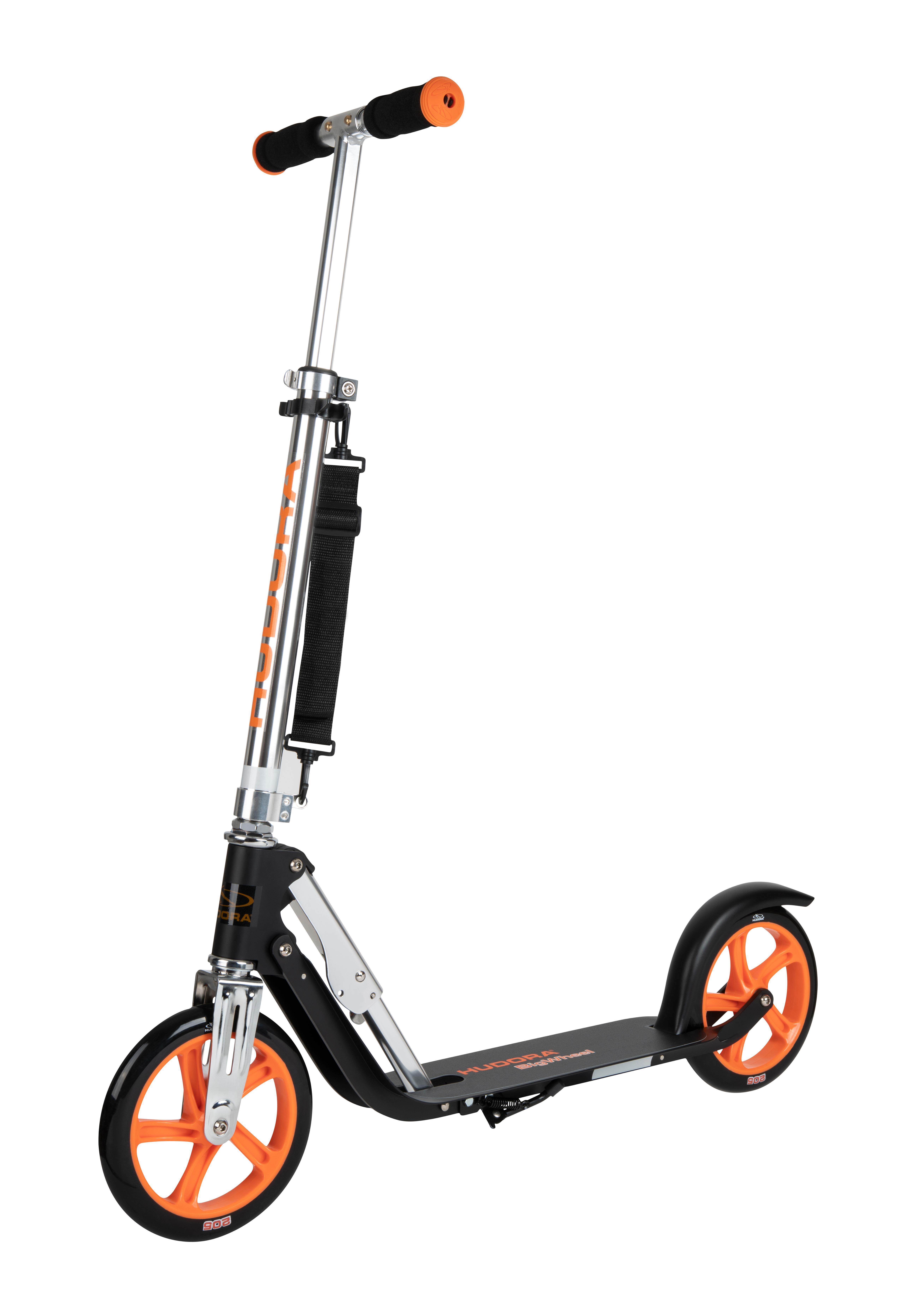Hudora Scooter   Roller Roller Roller Big Wheel RX 205 Low Rider + Lenkerlicht + Kabelschloss 3b1738