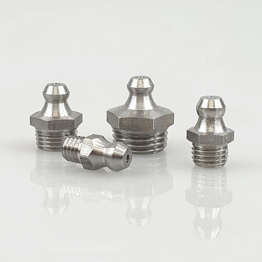DIN 71412 C Kegelschmiernippel Schmiernippel Stahl M8 x 0,75 5 Stück