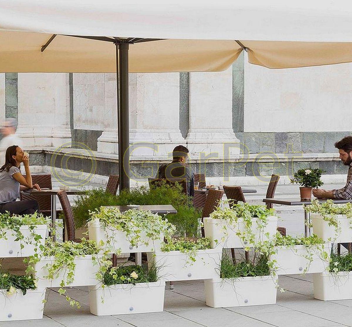 Pflanzkubel Raumteiler Innen Aussen Sichtschutz Pflanzkasten