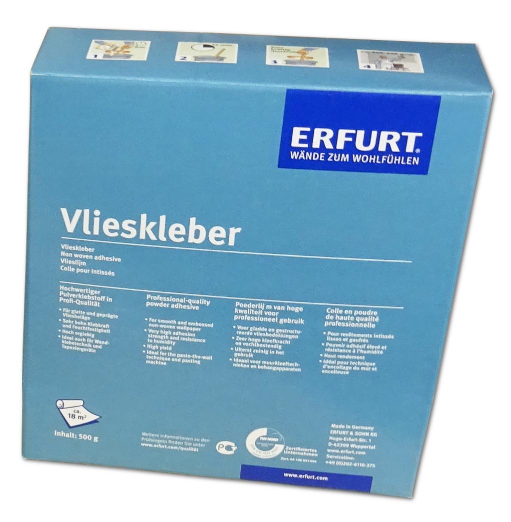 Erfurt Variovlies M 120 Pro 50x0,75m Glattvlies Renoviervlies Anstrichvlies Flat