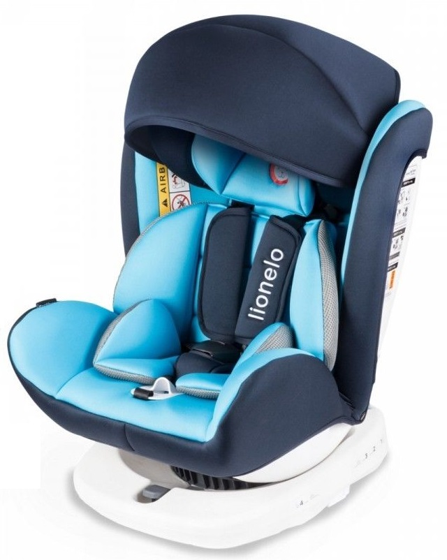Lionelo-Bastiaan-360-Auto-Kindersitz-Autositz-ISOFIX-9-36Kg-Gruppe-0-1-2-3-TUV Indexbild 14