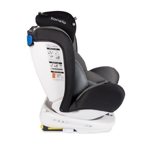 Lionelo-Bastiaan-360-Auto-Kindersitz-Autositz-ISOFIX-9-36Kg-Gruppe-0-1-2-3-TUV Indexbild 5