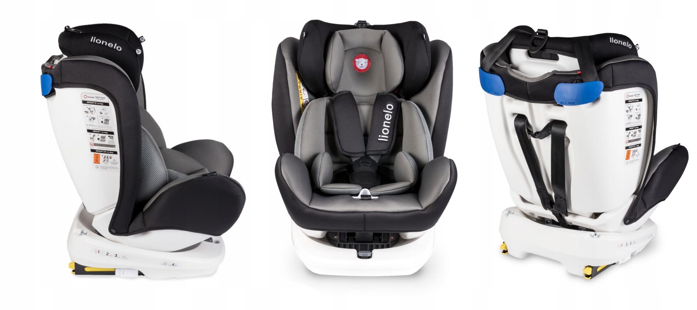 Lionelo-Bastiaan-360-Auto-Kindersitz-Autositz-ISOFIX-9-36Kg-Gruppe-0-1-2-3-TUV Indexbild 8