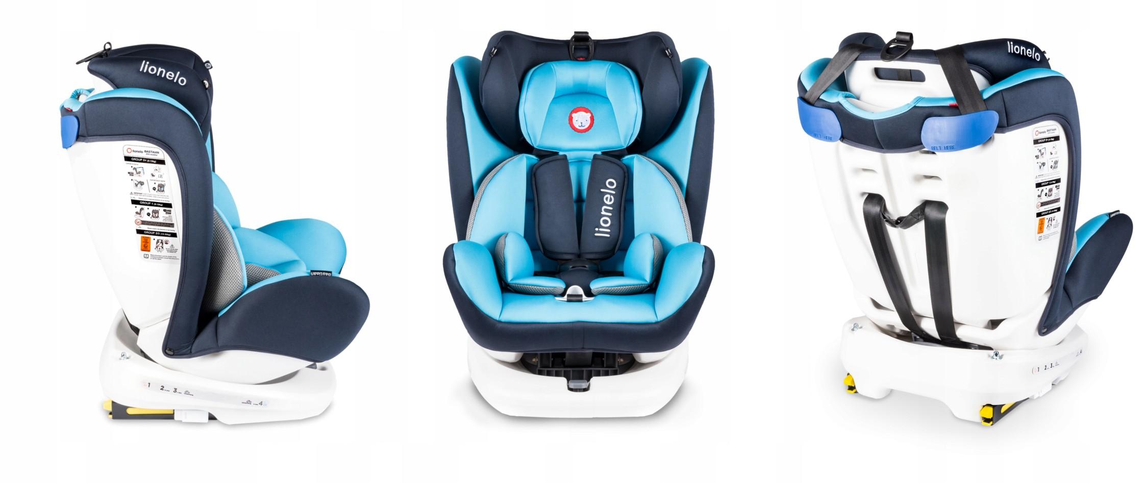 Lionelo-Bastiaan-360-Auto-Kindersitz-Autositz-ISOFIX-9-36Kg-Gruppe-0-1-2-3-TUV Indexbild 15