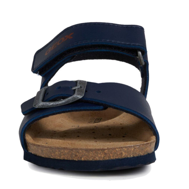 Details zu GEOX Kinder Sandale J New Sandal STORM Lederfussbett navyred Gr.28 39