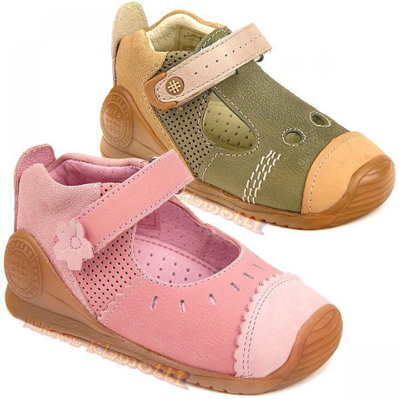 rosa Gr.18-23 BIOMECANICS by GARVALIN Lauflern Schuhe mit Fußbett khaki