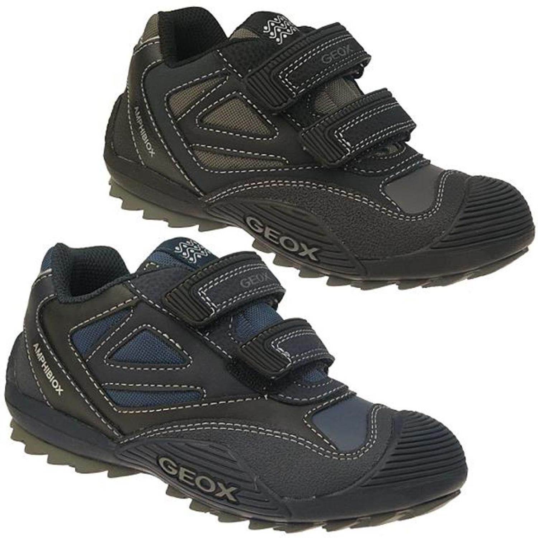 GEOX JR SAVAGE sportlicher Halbschuh Sneaker waterproof Gr.28 41 | eBay