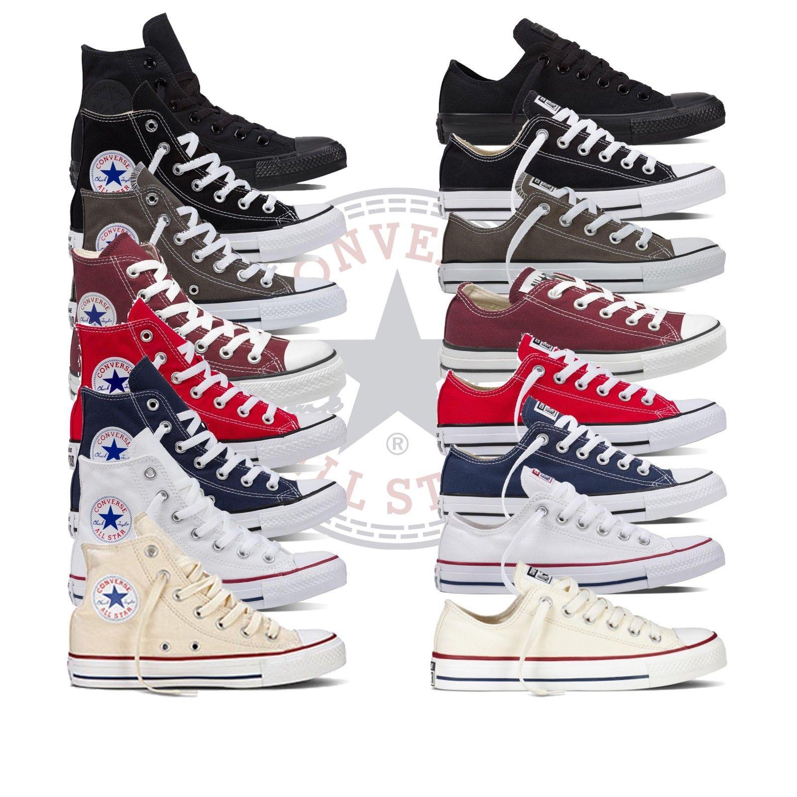 Details zu Converse Chucks Taylor All Star Sneaker Schuhe Turnschuhe Herren  Damen Freizeit