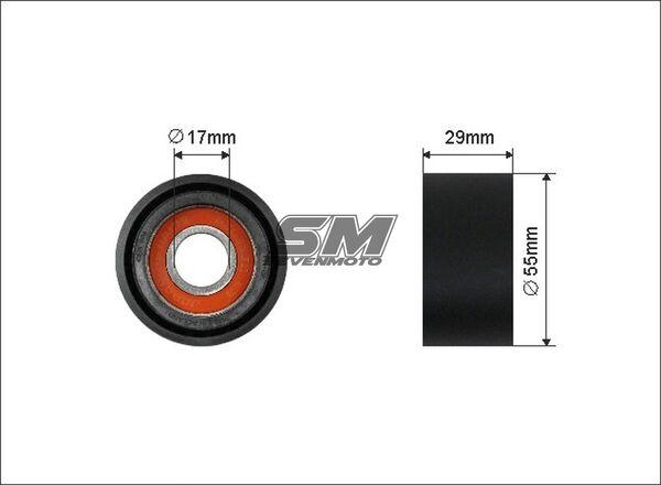 Spannrolle Keilrippenriemen BMW 5 E60 E61 520//525//530 d
