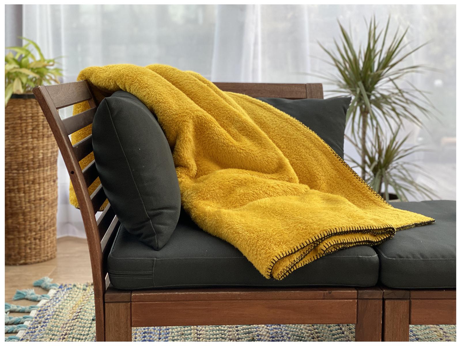 Indexbild 22 - Super Soft Kuscheldecke Langfloor Teddy Fleece XL 200x150 Plüsch Decke Typ716