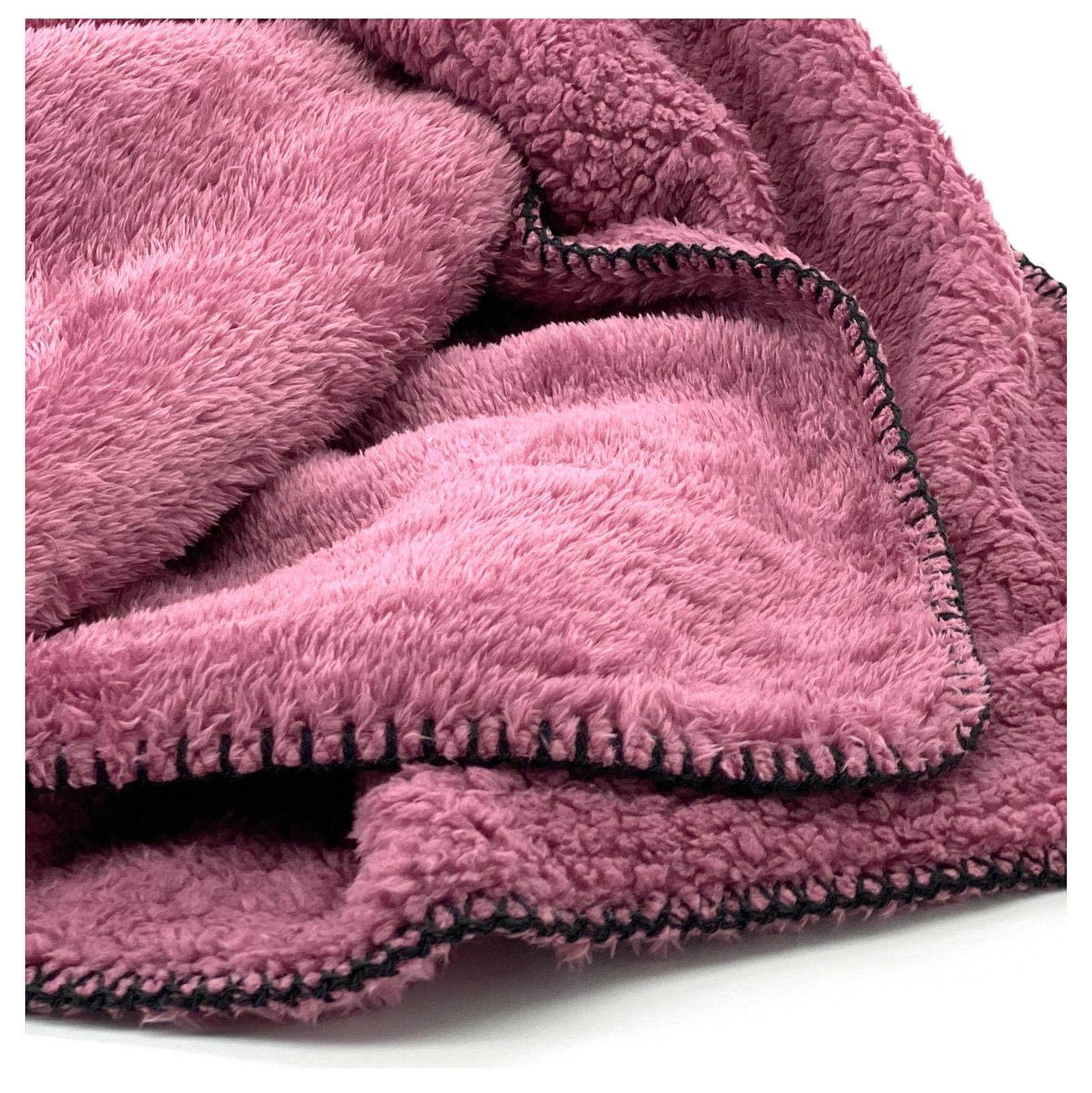 Indexbild 26 - Super Soft Kuscheldecke Langfloor Teddy Fleece XL 200x150 Plüsch Decke Typ716