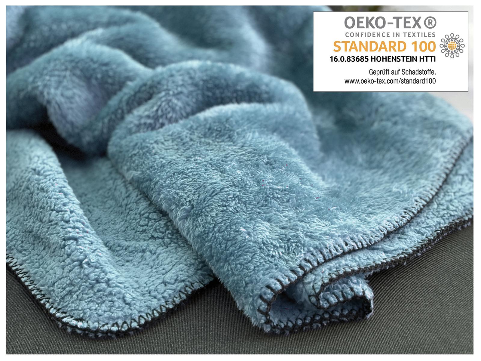 Indexbild 18 - Super Soft Kuscheldecke Langfloor Teddy Fleece XL 200x150 Plüsch Decke Typ716