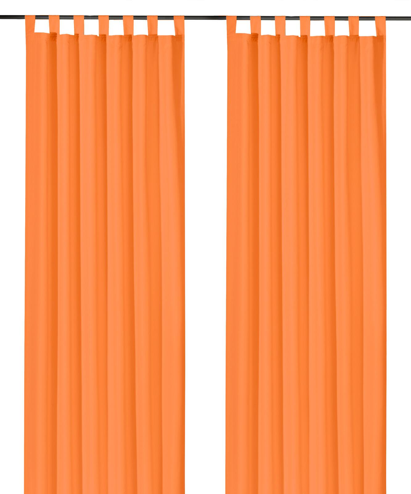 Schlaufenschal-inkl-Kraeuselband-blickdicht-Gardine-Vorhang-Dekoschal-Uni-Typ117 Indexbild 12