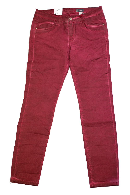 Details zu Angels Jeans Patti Knitter red Damen Jeans Hose viele Größen Neu rot gerade