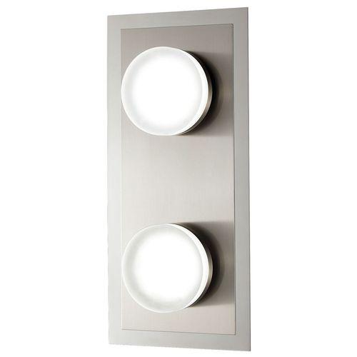 Wandleuchte chrom LED Metall Modern Warmweiß Schalter Dimmer