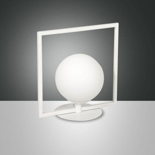 Tischleuchte Glas LED Modern weiss Warmweiß dimmbar