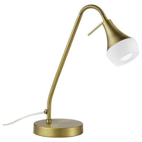 Schreibtischleuchte Klassisch Rustikale Tischlampe E14 gold messing