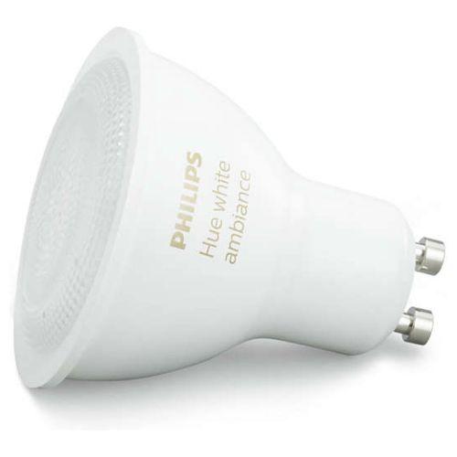 Philips hue White Ambiance LED GU10 5,5W ZigBee Echo Alexa kompatibel 25 W