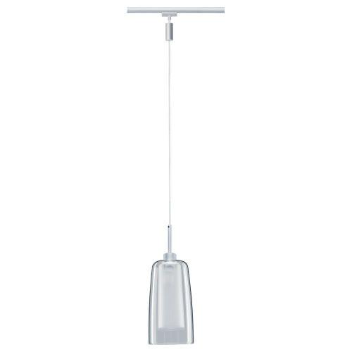 URail Systems LED Pendelleuchte Arido aus Chrom und Glas in klar und matt