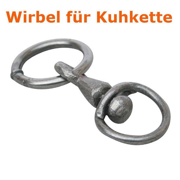 Metallwirbel mit Ring 4mm-8mm für Kuhkette verhindern Verdrehen der Kette NEU