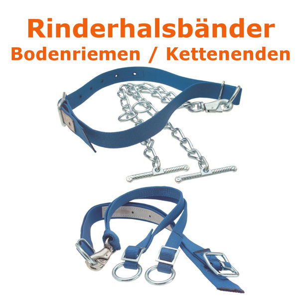 Rinderanbindung Halsband f Rinder Kühe Anbindung Rinderhalsband