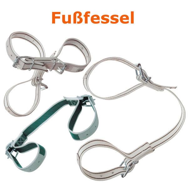 Kuh Halsband Kuhhalsband Nylon weiß Anbindung f