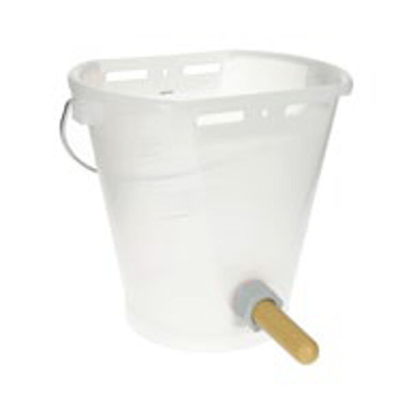 Tränkeeimer Kälbertränkeeimer Kälbertränke Nuckeleimer Kunststoff für Kälber
