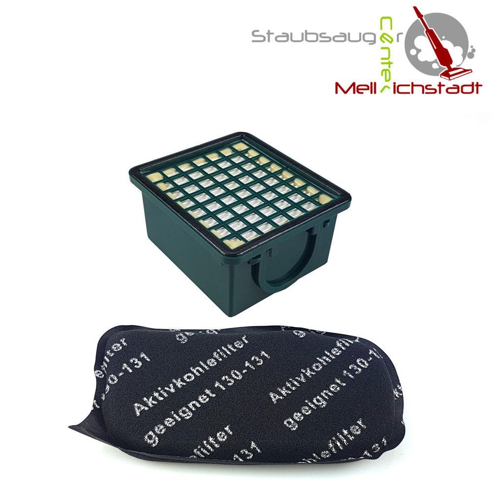 1 Motorschutzfilter Aktiv Kohlefilter geeignet  für Vorwerk Kobold 130//131