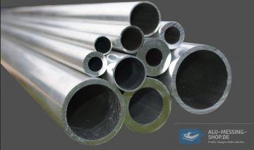 Aluminium Rundrohr AlMgSi05 /Ø 26x3mm 50cm auf Zuschnitt L/änge 500mm