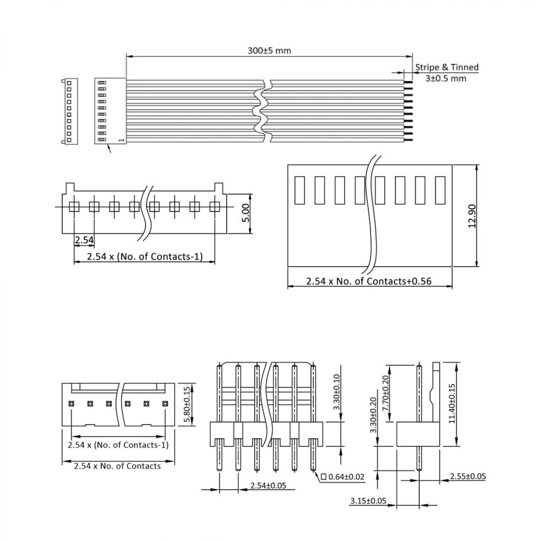 Fein 7 Wege Stecker Kabel Diragam Bilder - Schaltplan Serie Circuit ...