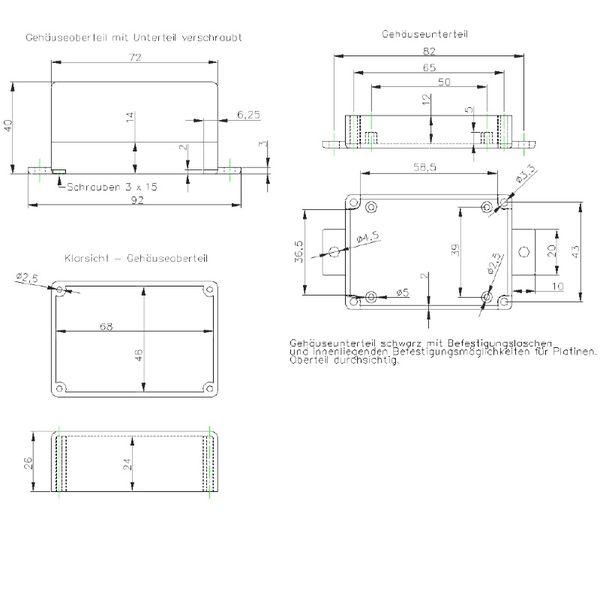 Mitte//Mitte 3 ST/ÜCK Doppelrosetten variabel in wei/ß und verchromt//Lochdurchmesser 16 mm auch in ANTHRAZITGRAU passend f/ür Rohrabst/ände von 30-70 mm 15mm, wei/ß RAL 9016