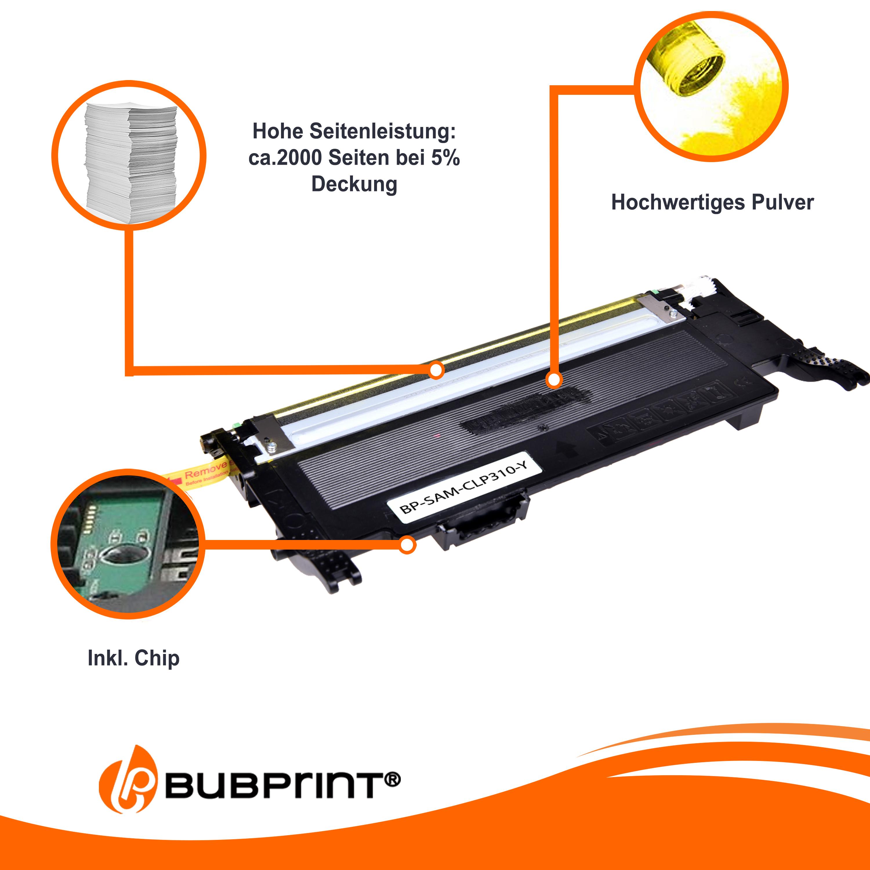 Chip für Samsung CLX-3175-FN CLX-3175-FW CLP-315-W CLP-315-N 4x Pulver