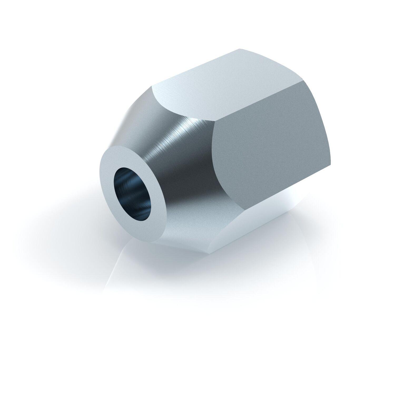 10 x Bremsleitung Nippel Bremsrohr 6,00 mm Verschraubung M12*1,00 mm