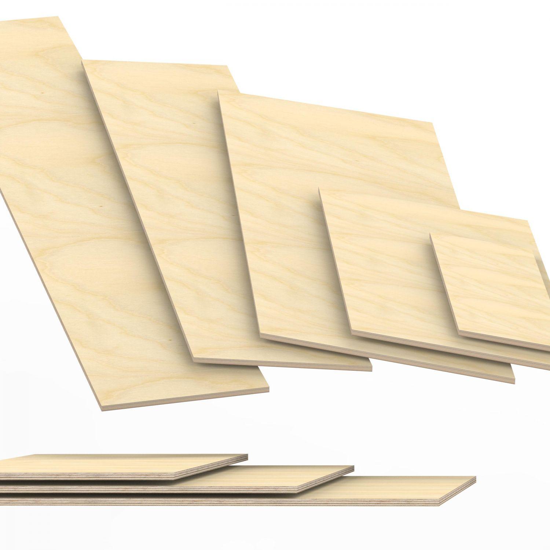 9mm Sperrholz-Platten Birke Zuschnitt Multiplex Regalboden Werkbank 22,00 €//m²