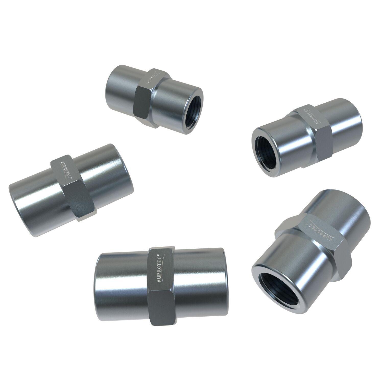 100x Verschraubung M10 x 1 f/ür Bremsleitung 4,75 mm B/ördel F Typ A Profi Verbinder DIN//ISO 1651 konform