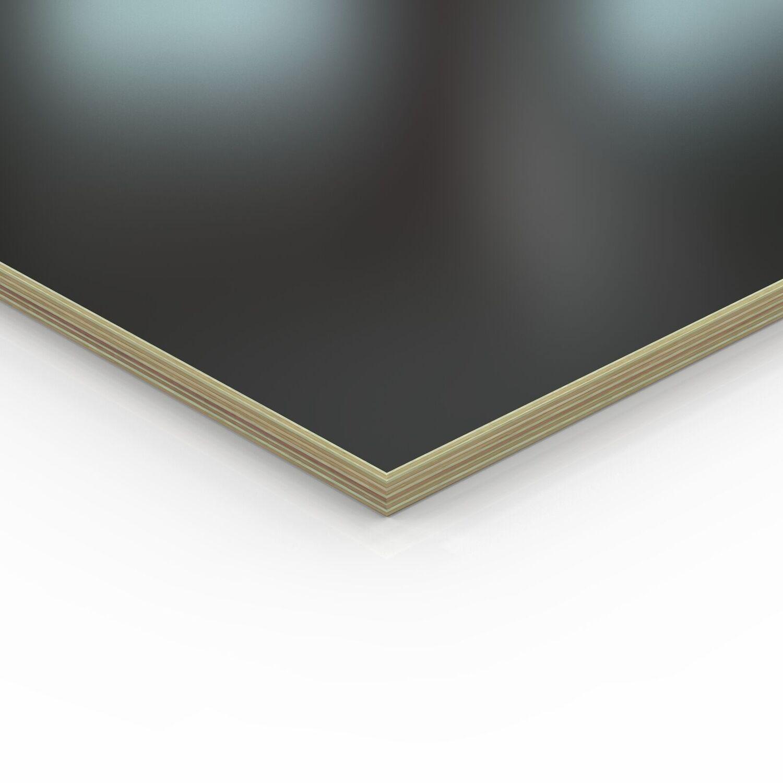110x10 cm 18mm Multiplex Zuschnitt schwarz melaminbeschichtet L/änge bis 200cm Multiplexplatten Zuschnitte Auswahl