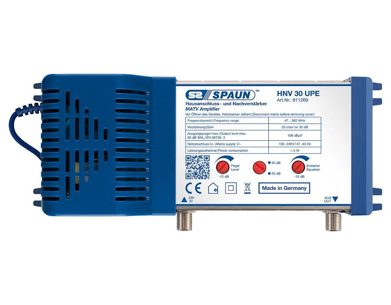 Spaun HNV 30 UPE Hausanschluss-/Nachverstärker bis 30 db regelbar ...