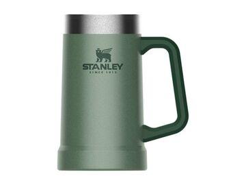 Bierkrug Stahl Isolier Becher Bier Humpen STANLEY Classic Vacuum Steel Stein