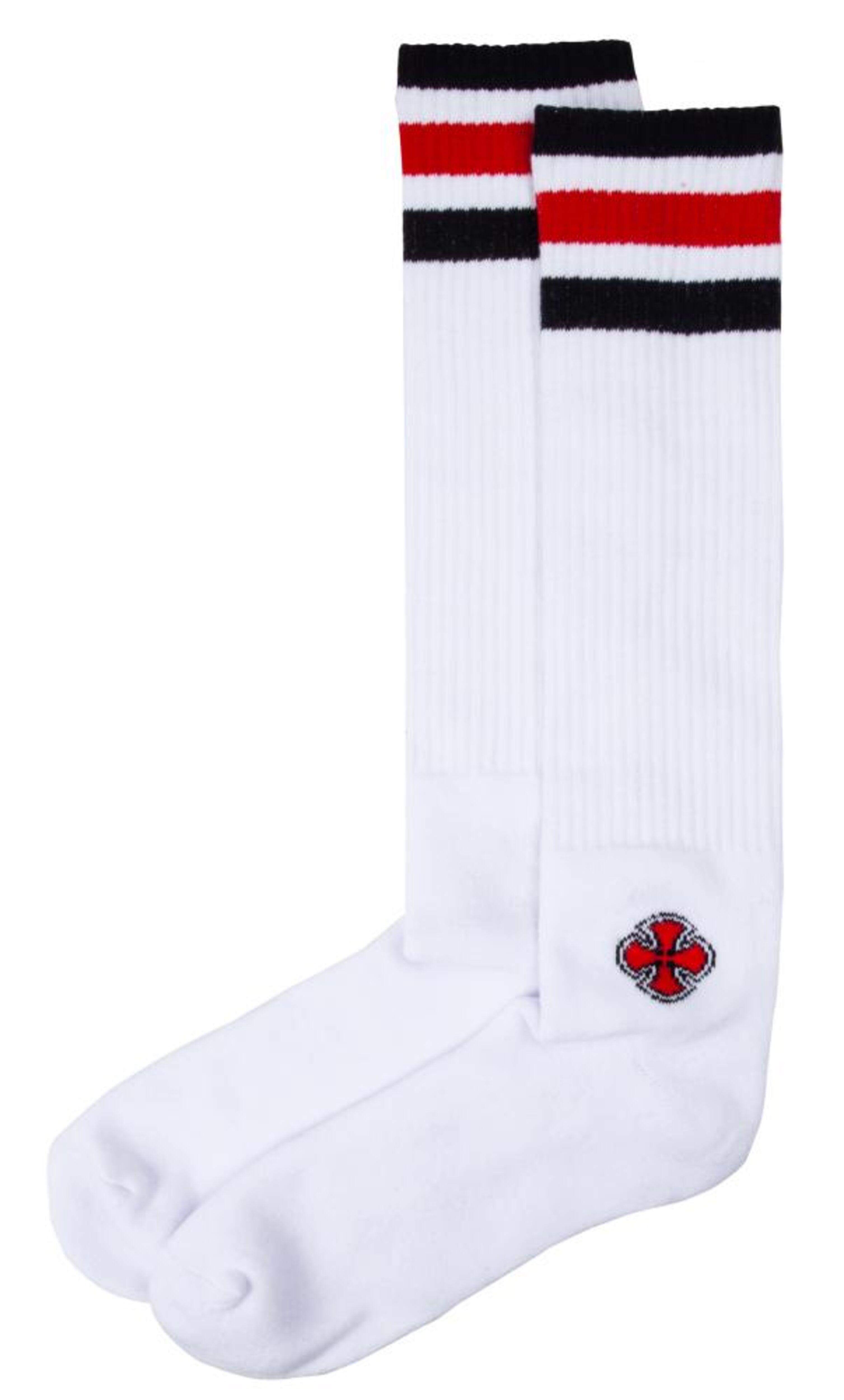 Santa Cruz Overknee Cutaway Socks Chaussettes White OneSize
