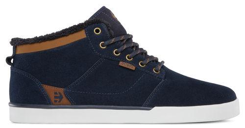 583d41f43401b0 Etnies Jefferson Mid Navy Brown White Herren Skateboard Schuhe Gr.44 ...