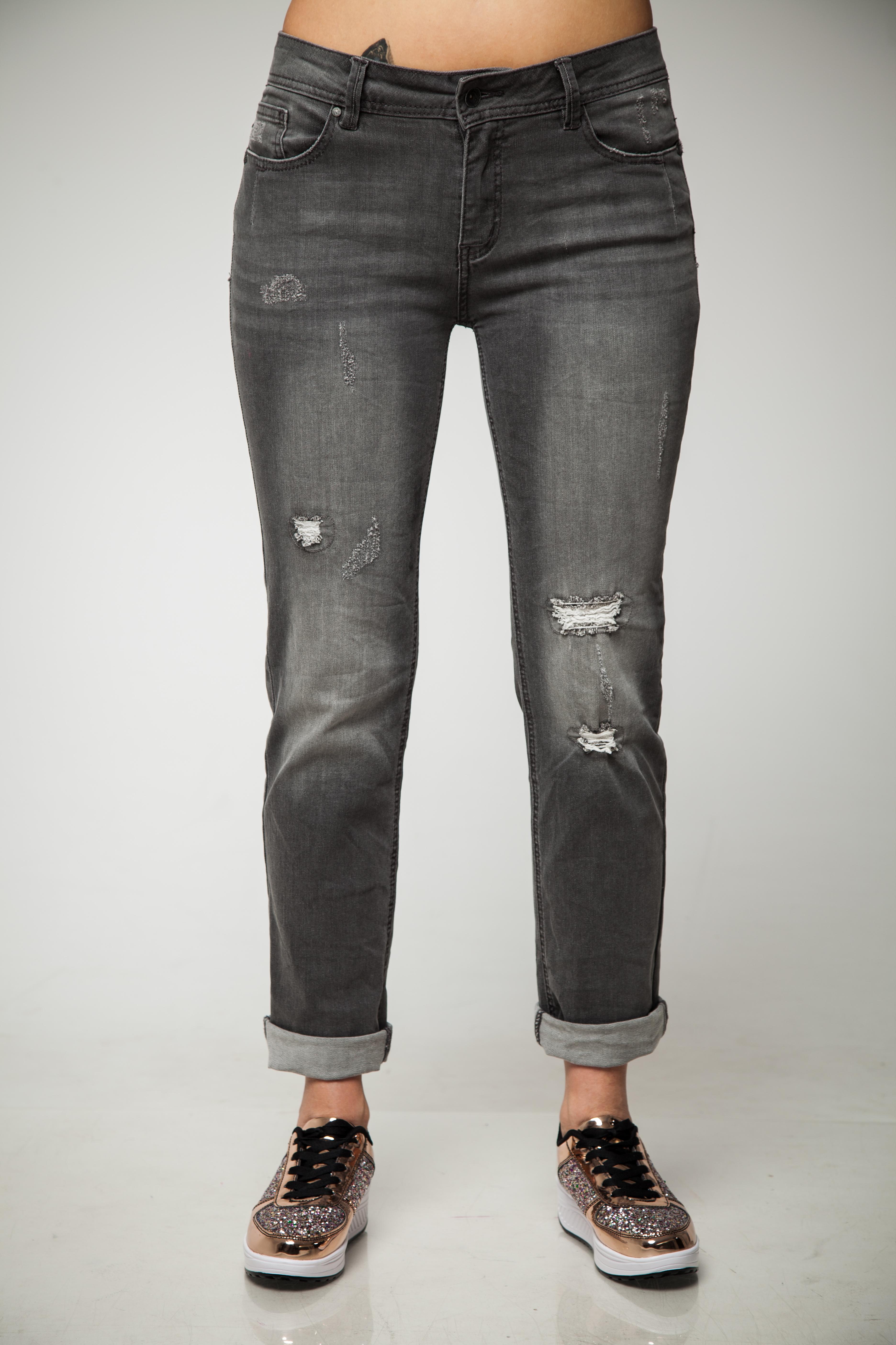 Schlussverkauf extrem einzigartig konkurrenzfähiger Preis Buena vista Women's Jeans Malibu Zip-Straight 3852 Anthra Wash ...