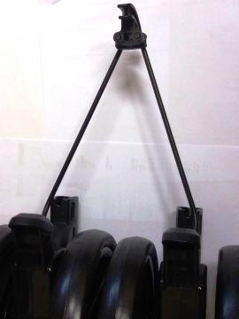 Peg Perego 1 Stück   Radkappe  Abdeckkappe schwarz für Rad Pliko P 3 ab Mod 11