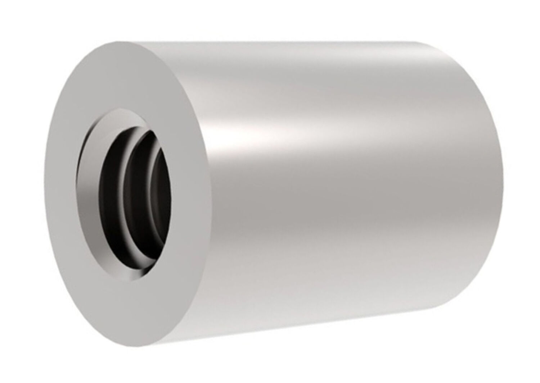 2 St/ück Edelstahl A2 - Verbindungsmuttern Langmuttern Distanzmuttern Gewindeh/ülsen Gewindemuffen M12 X 50 Sechskant